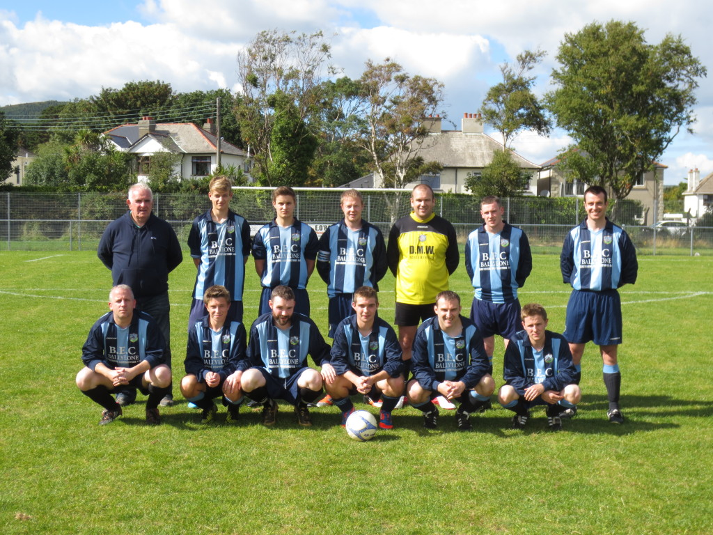 Ballynahinch United Swifts that played in the match against Tollymore Forest