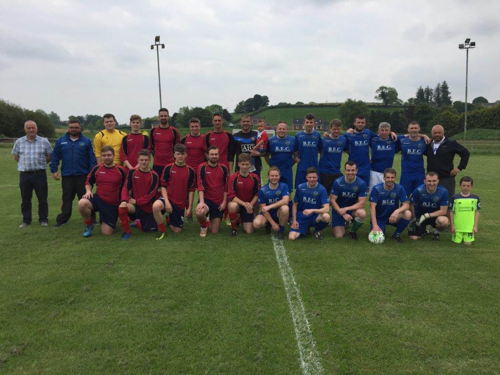 BUFC Under and Over 30's teams, managers and officials