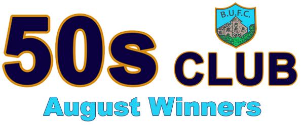 50s Club: August Winners